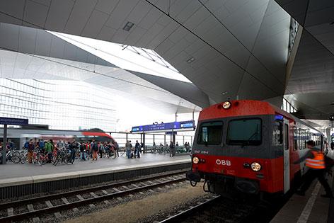 Eröffnung Hauptbahnhof
