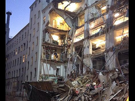 Eingestürzte Manner-Fabrik