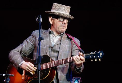 Elvis Costello auf der Bühne