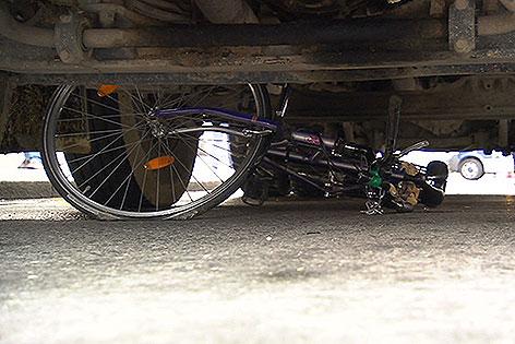 Verkehrsunfall Laxenburger Straße