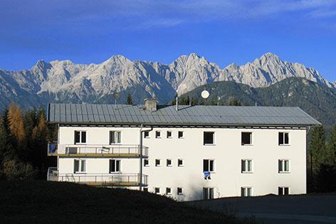Flüchtlingsheim Bürglkopf Fieberbrunn