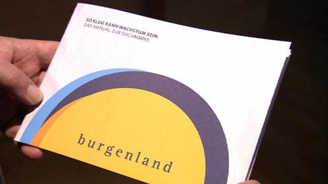 Logo der Dachmarke Burgenland