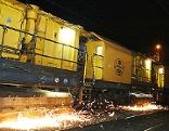 Schienenschleifzug der ÖBB
