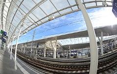 Neuer Salzburger Hauptbahnhof vor Eröffnung