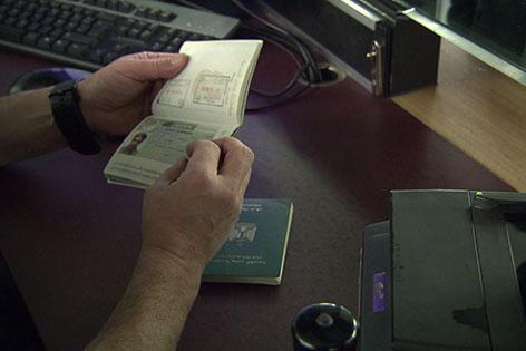 Passkontrolle Flughafen Schwechat
