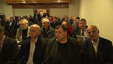 Roma Gedenkveranstaltung in Goberling