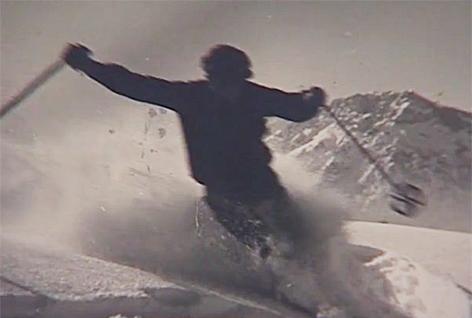 Skifahren Otto Lang Untersberg Ski