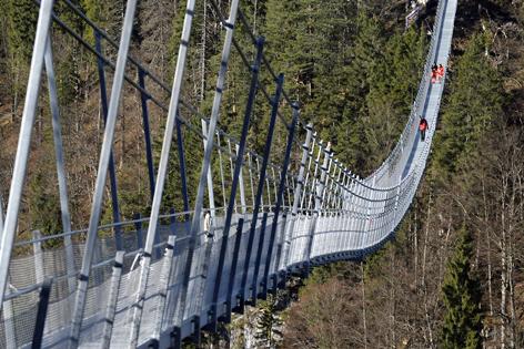 Hängebrücke Highline 179