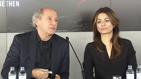 Regisseur Robert Dornhelm und Bühnenbildnerin Amra Bergman