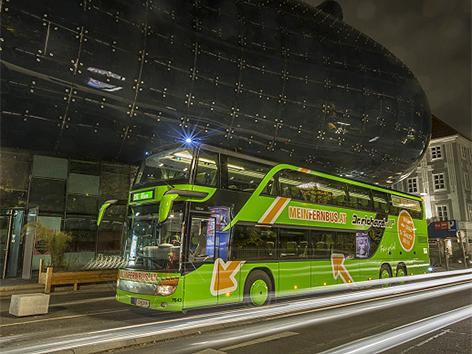 Neuer Bus Von Graz Nach Wien Steiermarkorfat