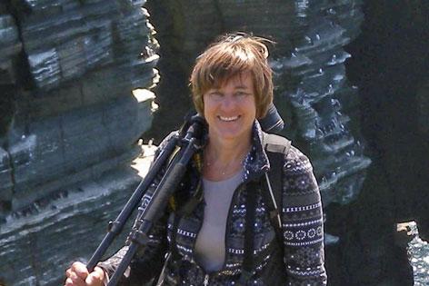 Dr. Christiane Böhm, Leiterin der Forschungsabteilung im Innsbrucker Alpenzoo