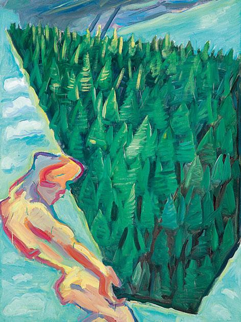 "Maria Lassnigs ""Der Wald"""