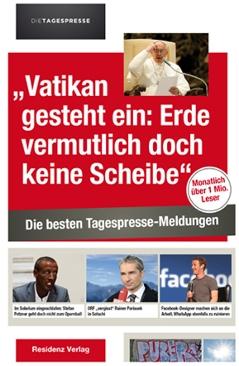 """Cover vom Buch """"Vatikan gesteht ein: Erde vermutlich doch keine Scheibe"""""""