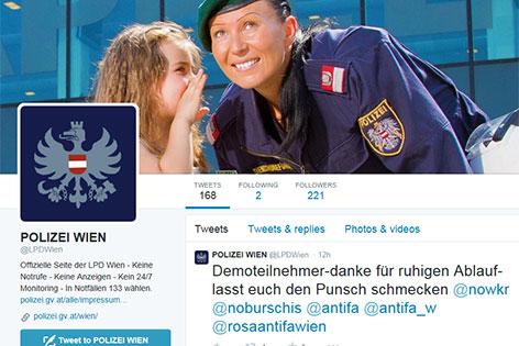 Polizei auf Twitter