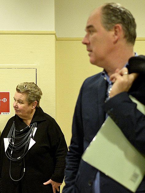 Silvia Stantejsky und Matthias Hartmann im Arbeits- und Sozialgericht
