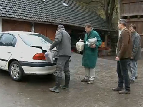 Futtermittel HCB Skandal Austausch Anlieferung