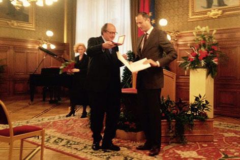 Horowitz wird von Mailath-Pokorny geehrt