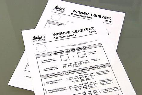 Formulare für Wiener Lesetest 2015