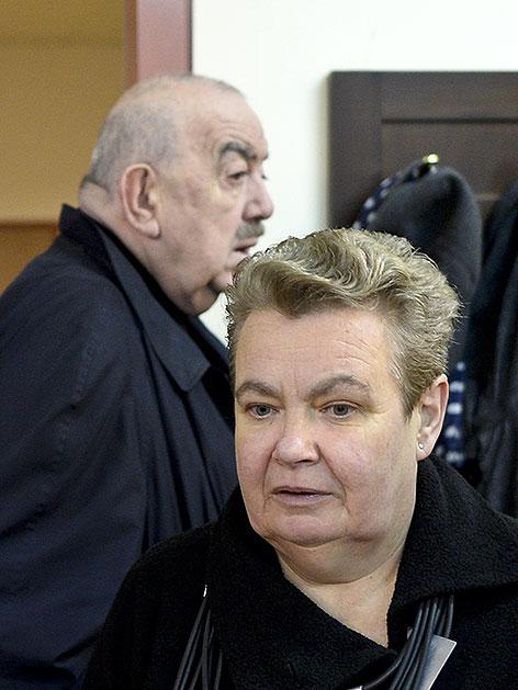 Silvia Stantejsky und Georg Springer am Arbeits- und Sozialgericht