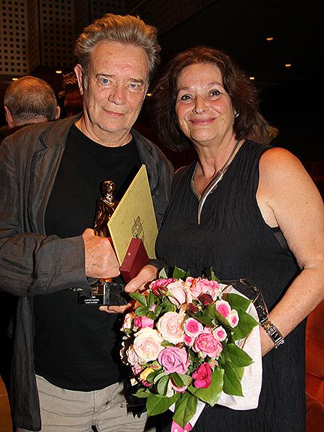 Gert und Ursula Voss bei einer Ehrung in Salzburg 2011