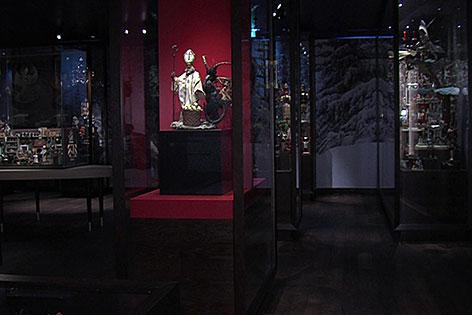 Weihnachtsmuseum am Mozartplatz in der Stadt Salzburg