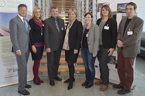 Treffen heimischer Experten zum Thema Donau-Moldau-Region