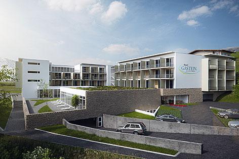 geplantes Hotelprojekt in Bad Gastein