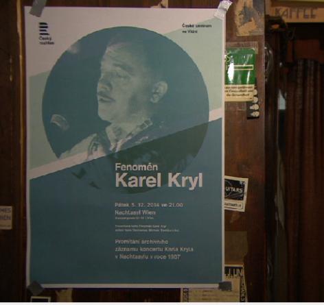 Karel Kryl | Buchpräsentation im Nachtasyl