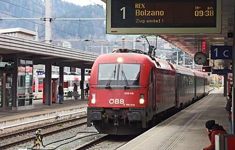 Neue Direktverbindungen mit Südtirol tirol.ORF.at