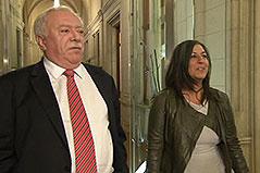 Bürgermeister Michael Häupl und Vizebürgermeisterin Maria Vassilakou nach Koalitionsausschuss