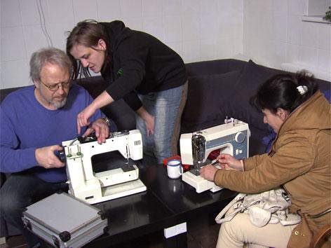 neuer Trend: Repair-Cafes, gemeinsam reparieren, statt neu kaufen