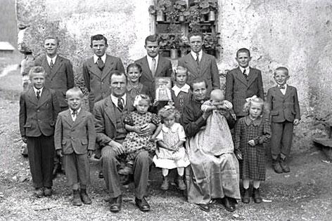 Südtiroler Familien zur Zeit der Option