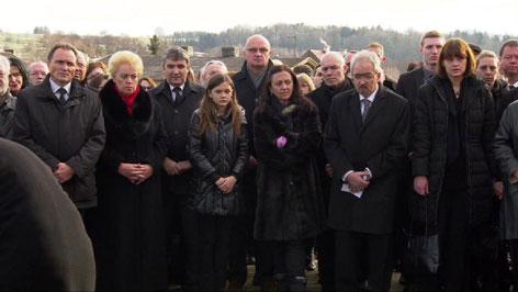 Kurt Kuchs Begräbnis