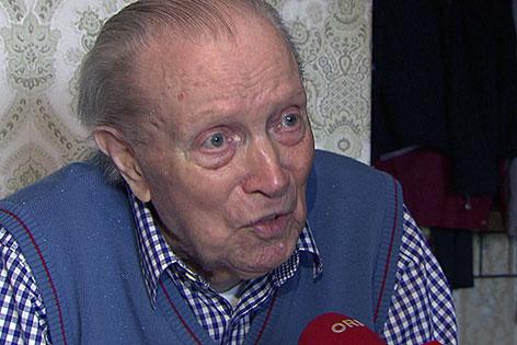 Der 99 Jahre alte Ferdinand Kammerer
