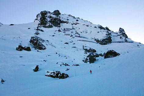 Lawine Skigebiet Hochfügen