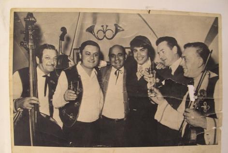 Stefan Horvath mit Roy Black