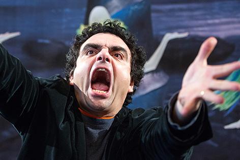 """Opernstar Rolando Villazon am Freitag, 09. Jänner 2015, während einer PK der Volksoper Wien anl. der Premiere von """"Viva la Mamma""""."""