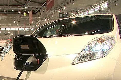 Auto bei Autoshow in der Messe Wien