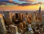 New York Manhattan vom Rockefeller Center