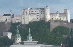 Festung Hohensalzburg Salzburg Altstadt Mirabellgarten Mirabell Schloss Mirabell