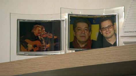 David Samer und Hans Samer auf einem Foto