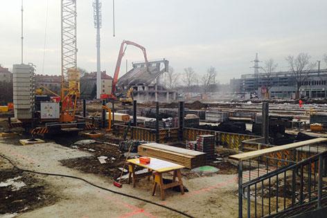 Baustelle Allianz Stadion