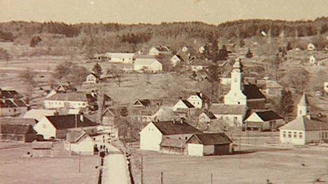 Altes Foto der Gemeinde Kemeten