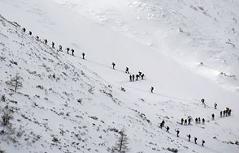 Gruppen Skitour im Gesäuse