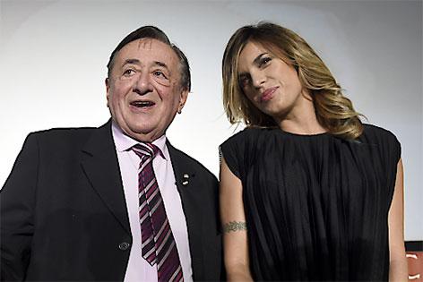 Elisabetta Canalis und Richard Lugner