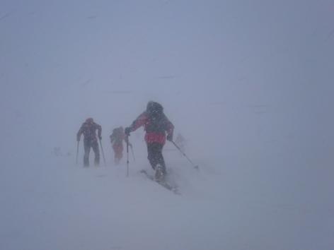 Dramatische Rettung Dachstein Skitour Tourengeher