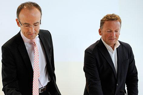 Tobias Natter (l.) und Peter Weinhäupl