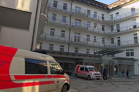 Das Krankenhaus in Schwarzach