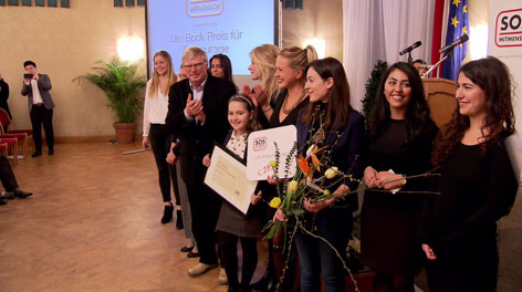 Verleihung des Ute-Bock-Preises für Zivilcourage