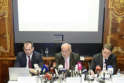 Rechtsanwälte Klaus Ainedter, Manfred Ainedter und Otto Dietrich